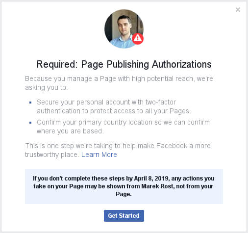 Kamarád Facebook